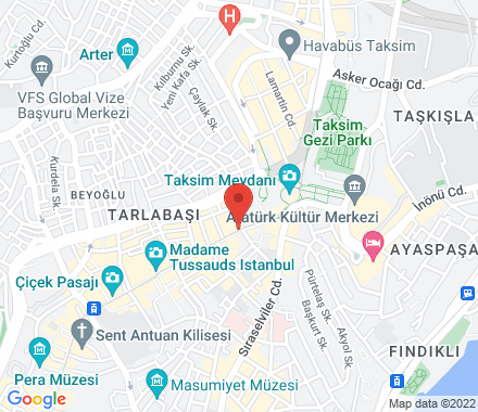 İstiklal Caddesi No:8 34435  Turkey - Map view