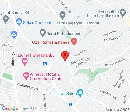 Cuma Mah. Hacı Eşref Sok. İzi İş Merkezi 3/3 Kat:4  Eyüp Turkey - Map view