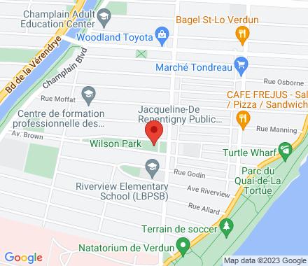 5955, rue Bannantyne H4H 1H6 Verdun Canada - Map view