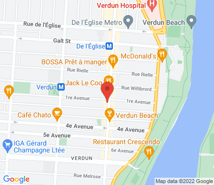 4611, rue Wellington   ,  Verdun , QC - Map view