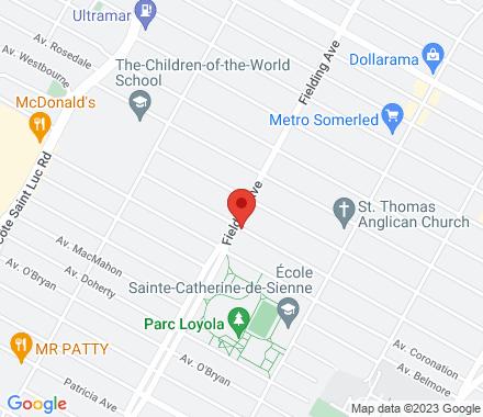 4960 Mayfair (at Fielding) (bus route 51)  ,  Montréal, QC - Map view