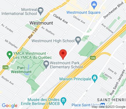 1396 Ste Catherine St West #211  ,  Montréal, QC - Map view