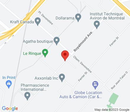 5661 Royalmount Avenue  ,  Montréal, QC - Map view