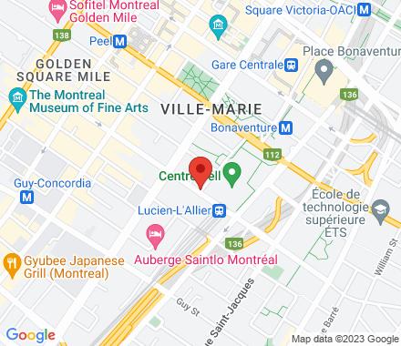 1275 Avenue des Canadiens-de-Montréal  , H3B 5E8 Montreal, QC - Map view