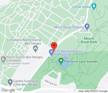 Parc du Mont-Royal  1260, Chemin Remembrance  , H3H 1A2 Montreal, QC - Map view