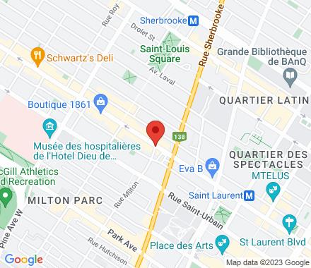 3451 Boulevard Saint-Laurent  , H2X 2T6 Montreal, QC - Map view