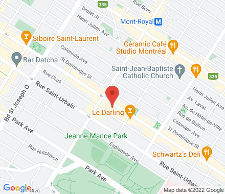 4416 St-Laurent H2W 1Z5 QC Canada - Map view