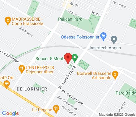 2275 boulevard St-Joseph  ,  Montréal, QC - Map view