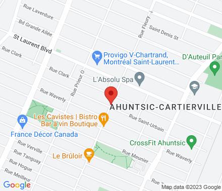 96 Rue Fleury O, Montréal, QC H3L 1T2  ,  Montréal, QC - Map view