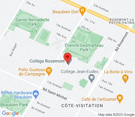 6400, 16e Avenue H1X 2S9 QC Canada - Map view