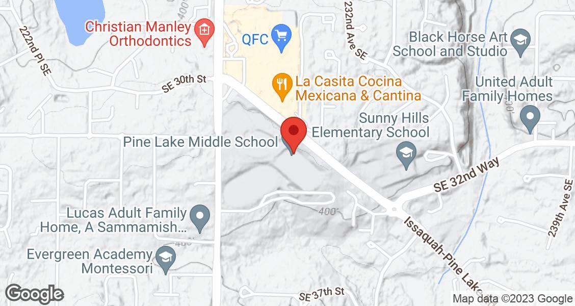 Pine Lake Middle School, 3200 228th Ave SE,, Sammamish, WA, 98075, U.S.