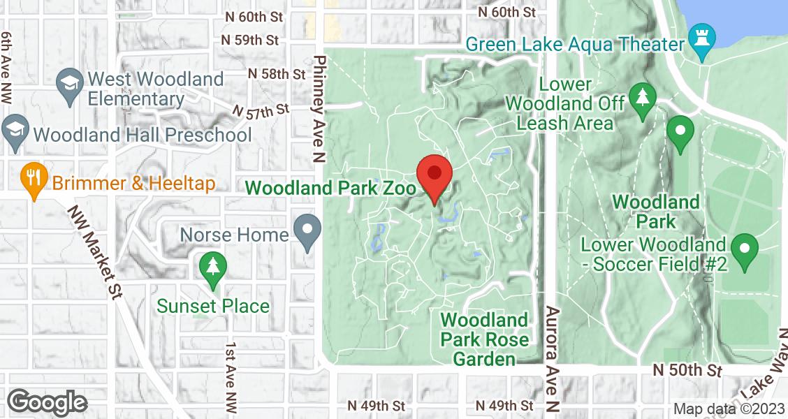 Woodland Park Zoo, 5500 Phinney Ridge Ave N., Seattle, WA, U.S.