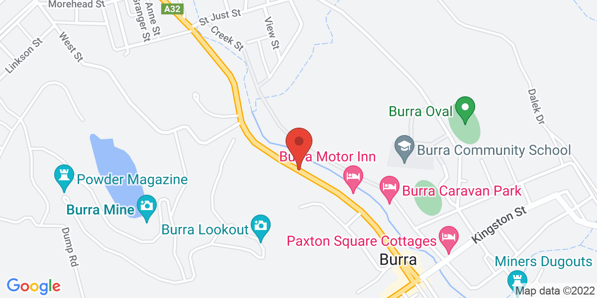 <div class='adr' >                             <div class='street-address'>Market Street</div>                             <div class='extended-address'></div>                             <div>                                 <span class='locality'>Burra</span>,                                 <span class='region'>Burra</span>                                 <span class='postal-code'>5417</span>                             </div>                                                      </div>