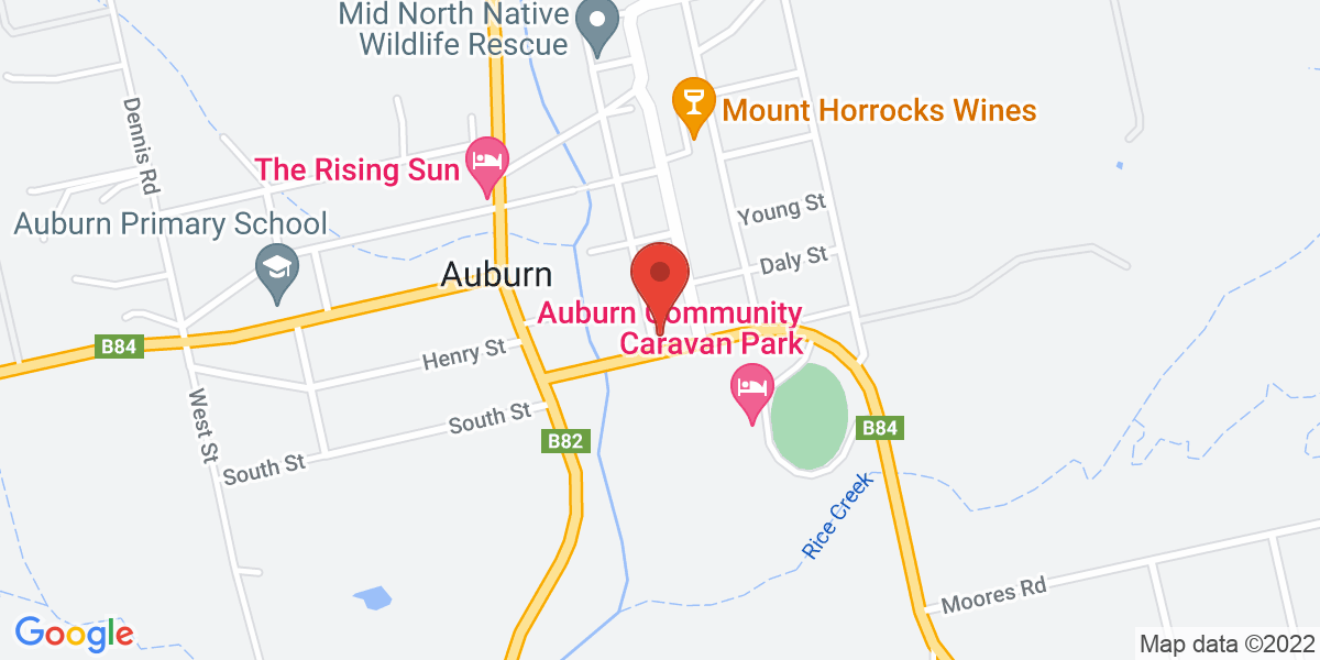 <div class='adr' >                             <div class='street-address'>11 Ford Street</div>                             <div class='extended-address'></div>                             <div>                                 <span class='locality'>Auburn</span>,                                 <span class='region'>South Australia</span>                                 <span class='postal-code'>5451</span>                             </div>                                                      </div>
