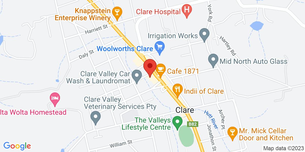 <div class='vcard'><div class='fn'>Lalt Collective</div>                         <div class='adr' >                             <div class='street-address'>260 main north road</div>                             <div class='extended-address'>Shop 2</div>                             <div>                                 <span class='locality'>Clare</span>,                                 <span class='region'>South Australia</span>                                 <span class='postal-code'>5453</span>                             </div>                                                      </div></div>