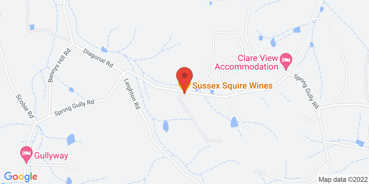 <div class='vcard'><div class='fn'>Intimate Tasting Experience with the Winemaker - Sussex Squire Wines</div>                         <div class='adr' >                             <div class='street-address'>293 Spring Gully Road</div>                             <div class='extended-address'></div>                             <div>                                 <span class='locality'>Gillentown</span>,                                 <span class='region'>South Australia</span>                                 <span class='postal-code'>5453</span>                             </div>                                                      </div></div>