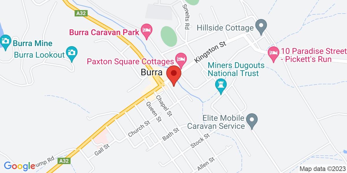 <div class='vcard'><div class='fn'>La Pecora Nera</div>                         <div class='adr' >                             <div class='street-address'>3 Upper Thames Street</div>                             <div class='extended-address'>Burra</div>                             <div>                                 <span class='locality'>Burra</span>,                                 <span class='region'>South Australia</span>                                 <span class='postal-code'>5417</span>                             </div>                                                      </div></div>