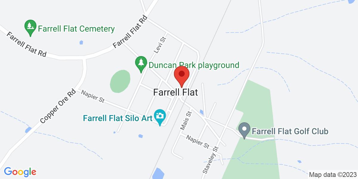 <div class='vcard'><div class='fn'>Trevalia Family Unit Farrell Flat</div>                         <div class='adr' >                             <div class='street-address'>8 South Terrace</div>                             <div class='extended-address'></div>                             <div>                                 <span class='locality'>Farrell Flat</span>,                                 <span class='region'>South Australia</span>                                 <span class='postal-code'>5416</span>                             </div>                                                      </div></div>