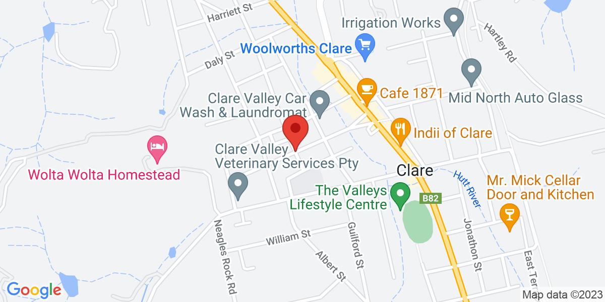 <div class='adr' >                             <div class='street-address'>Gleeson Street</div>                             <div class='extended-address'></div>                             <div>                                 <span class='locality'>Clare</span>,                                 <span class='region'>South Australia</span>                                 <span class='postal-code'>5453</span>                             </div>                                                      </div>