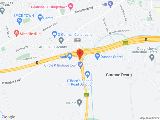 Audi Cork Audi Approved Plus location