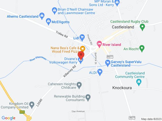Divanes Volkswagen Kerry location