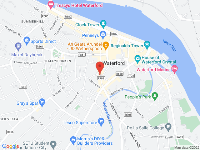 Martin Barrett Car Sales location