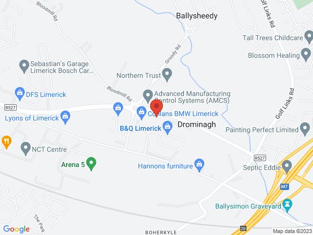 Audi Limerick Audi Approved Plus location
