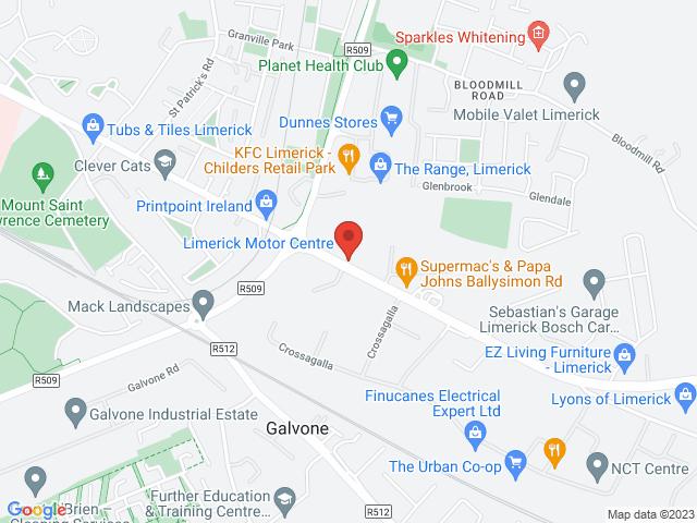 Limerick Motor Centre location