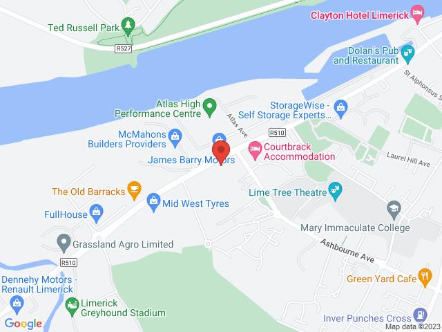James Barry Motors location
