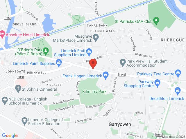 Frank Hogan Ltd. location