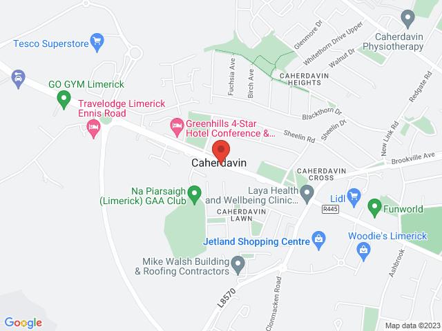 Hinchys Garage Ennis Road location