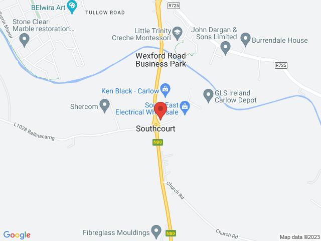 Carlow Nissan location