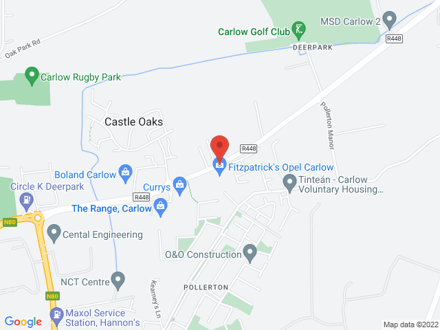 Fitzpatricks Opel Carlow location
