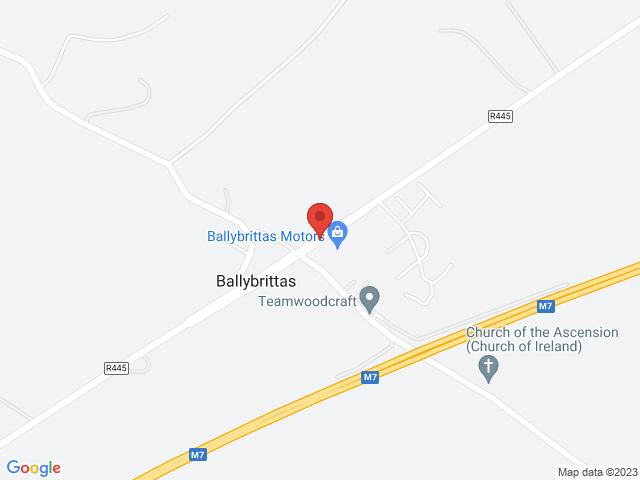 Ballybrittas Motors location