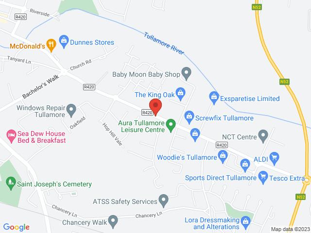 Tullamore Motors Opel location