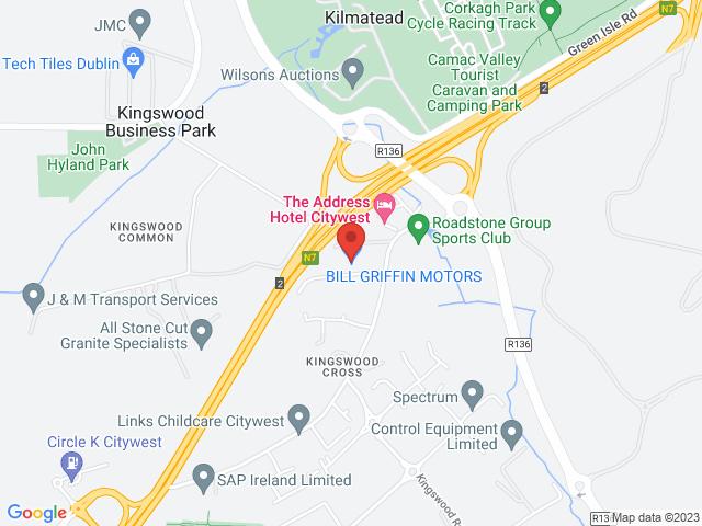 Bill Griffin Motors location