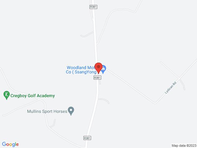 Woodland Motor Co location