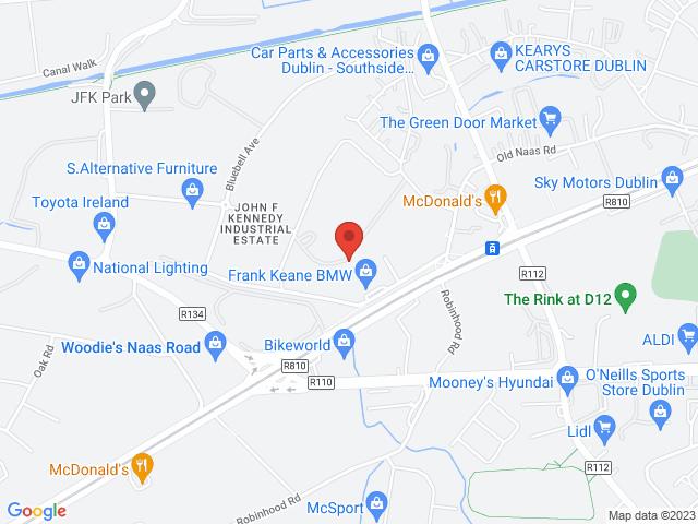 Frank Keane BMW location