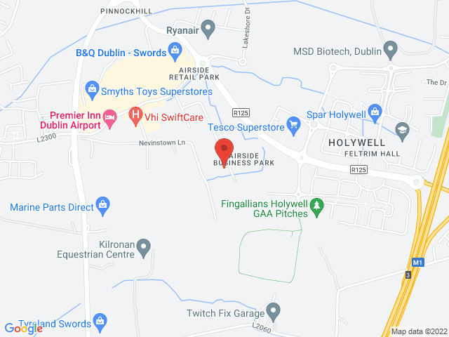 Airside Motor Centre location
