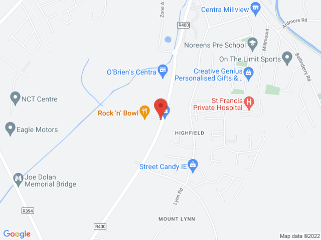 O'Briens Renault & Dacia location