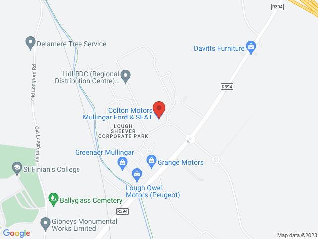 Colton Motors Mullingar location