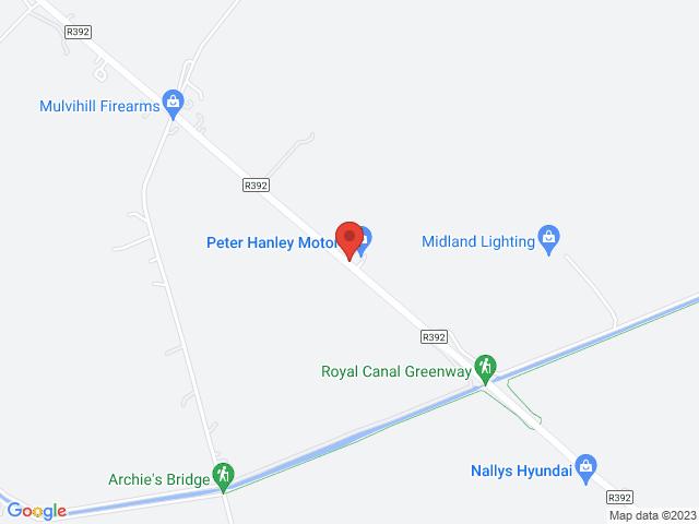 Peter Hanley Motors Limited location