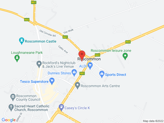 J. Keane & Sons (Ros) Ltd location