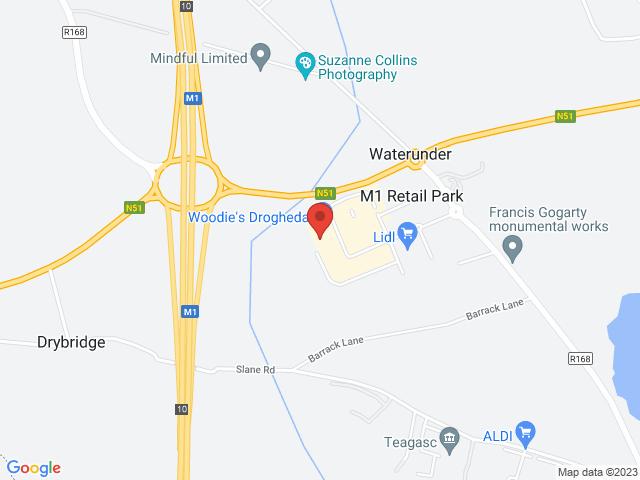 Western Motors (Drogheda) location