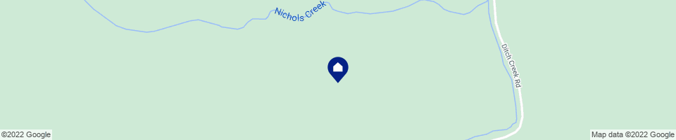 map showing home location