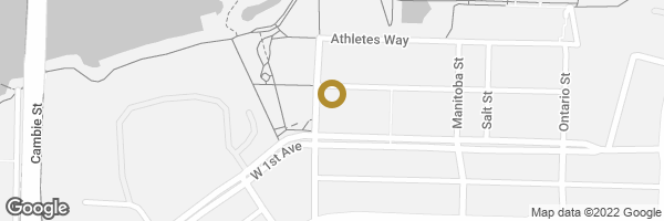 Map of 1106 181 W 1ST AVENUE, Vancouver, BC, Canada