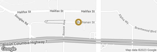 Map of 2202 4400 BUCHANAN STREET, Burnaby, BC, Canada