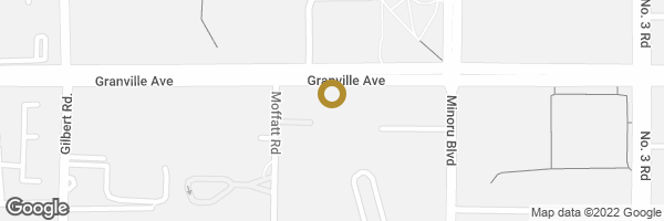 Map of 705 7500 GRANVILLE AVENUE, Richmond, BC, Canada