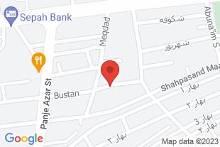 پیش فروش آپارتمان در اصفهان - موقعیت در نقشه