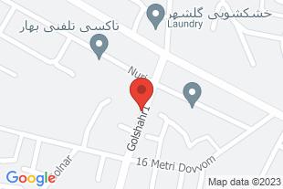 فروش آپارتمان 94 مترى - موقعیت در نقشه
